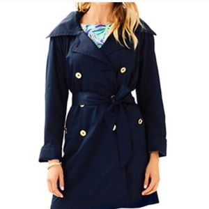 BRAND NEW Lilly Pulitzer Trench Coat